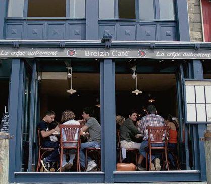 creperie in Cancale Bretagne Breizh Cafe