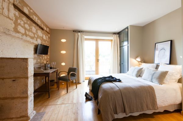Ecohotel in dordogne for Deco chambre a coucher cosy