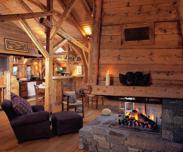 prima chillen in de lounge van Hotel Les Servages d'Armelles in Les Carroz