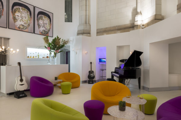 Designhotel sozo in nantes hemels dromen in een kerk for Designhotel 21