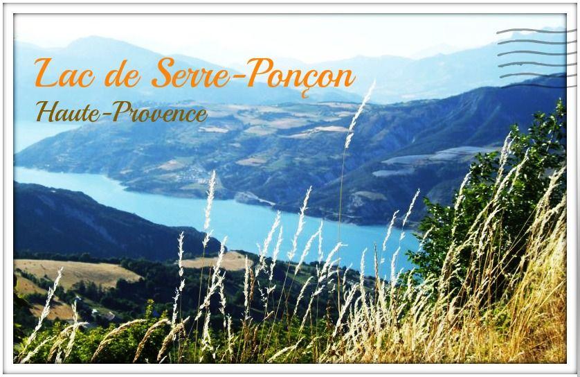 Lac-Serre-Ponçon-Haute-Provence-ansichtkaart3