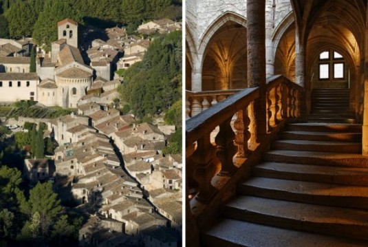 Saint-Guilhem en Pézenas moosite plekjes van Languedoc