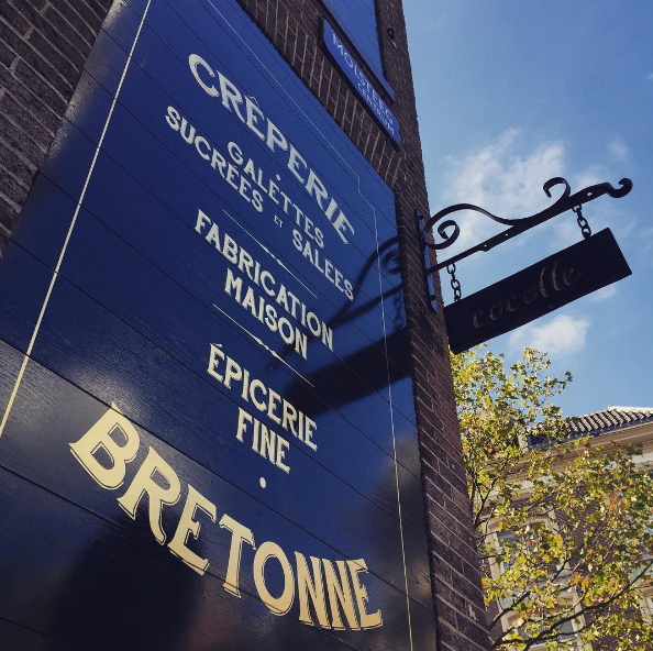 Cocotte Bretonse creperie in Amsterdam net geopend Spuistraat