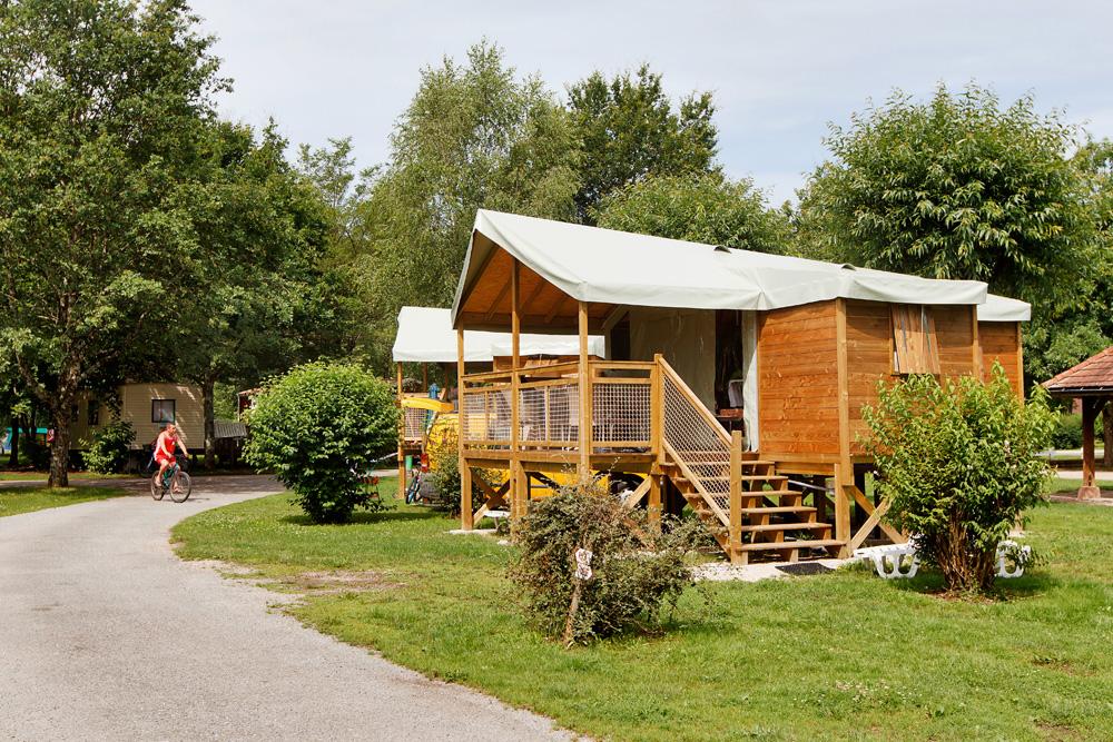 Ecolodge op camping val de Bonnal