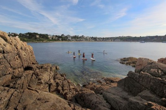 Stand Up Paddlelen in Bretagne