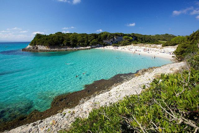 Mooiste stranden Frankrijk Petit Sperone Corsica