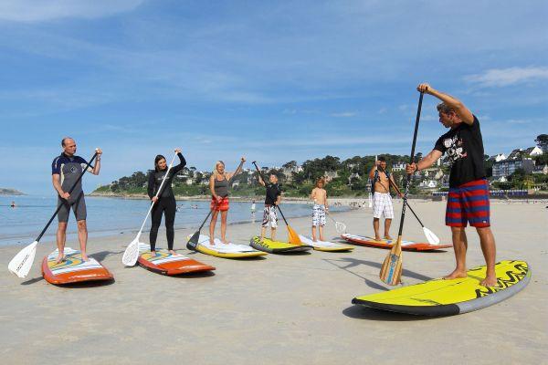 Supboarden lessen in Frankrijk