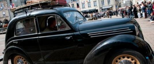 D-Day-Festival-70-jaar-landingsstranden-Normandie-klassieke-auto