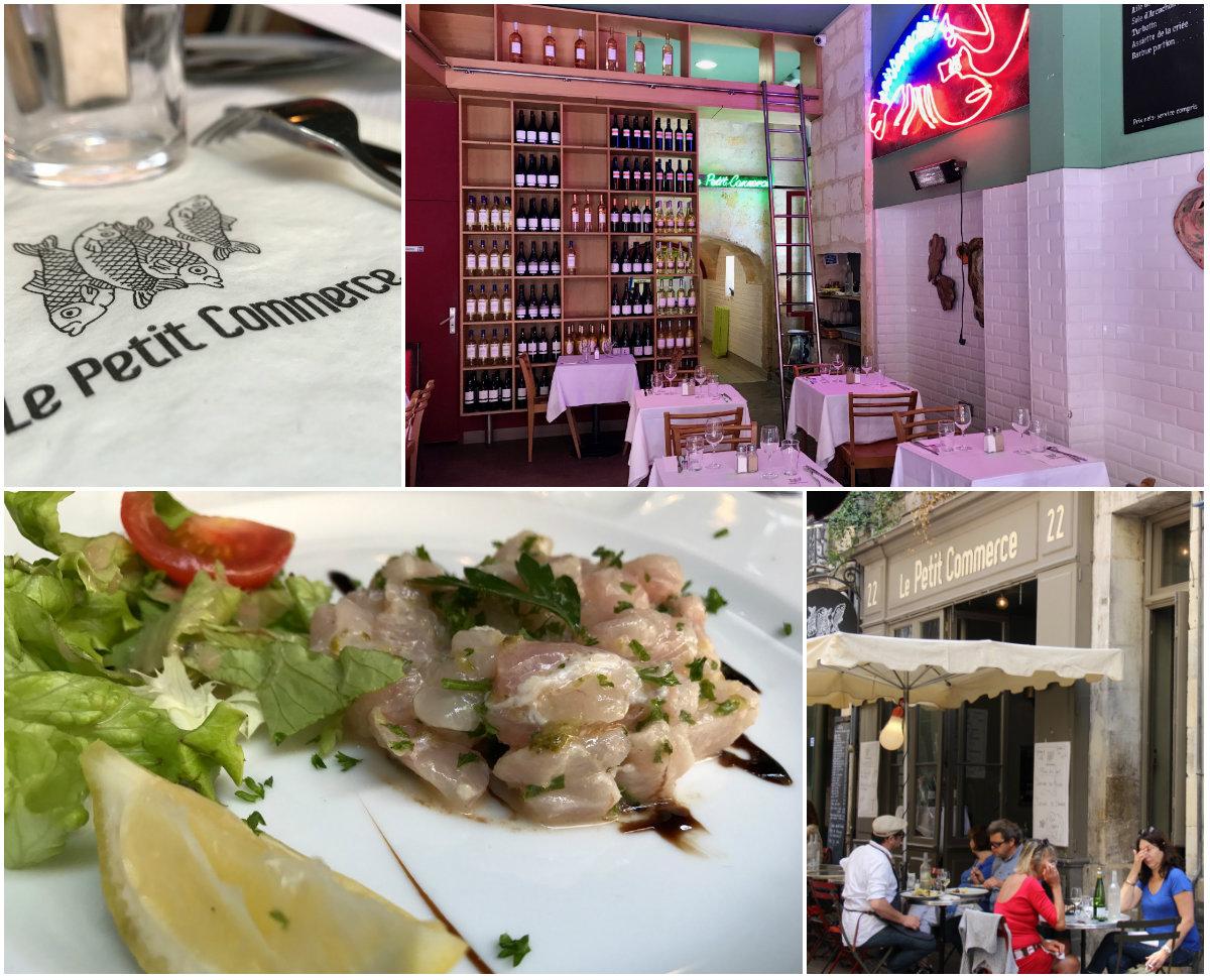 Visrestaurant La Petit Commerce Bordeaux