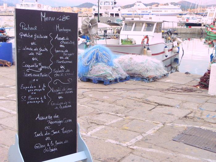 Oude haven van Ajaccio