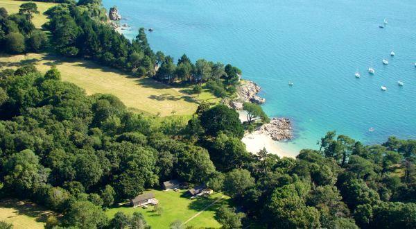glamping in Bretagne bot Conan Lodge safaritenten aan zee vakantie met kinderen