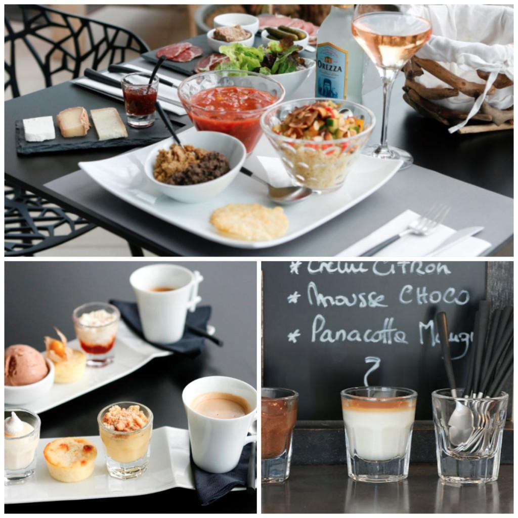 zalig eten bij Hotel A Piattatella in Corsica