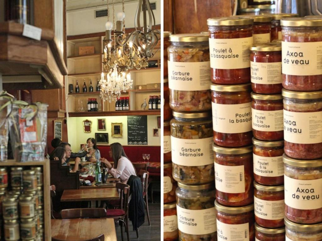 Le comptoir de la gastronomie: restaurant and kookwinkel