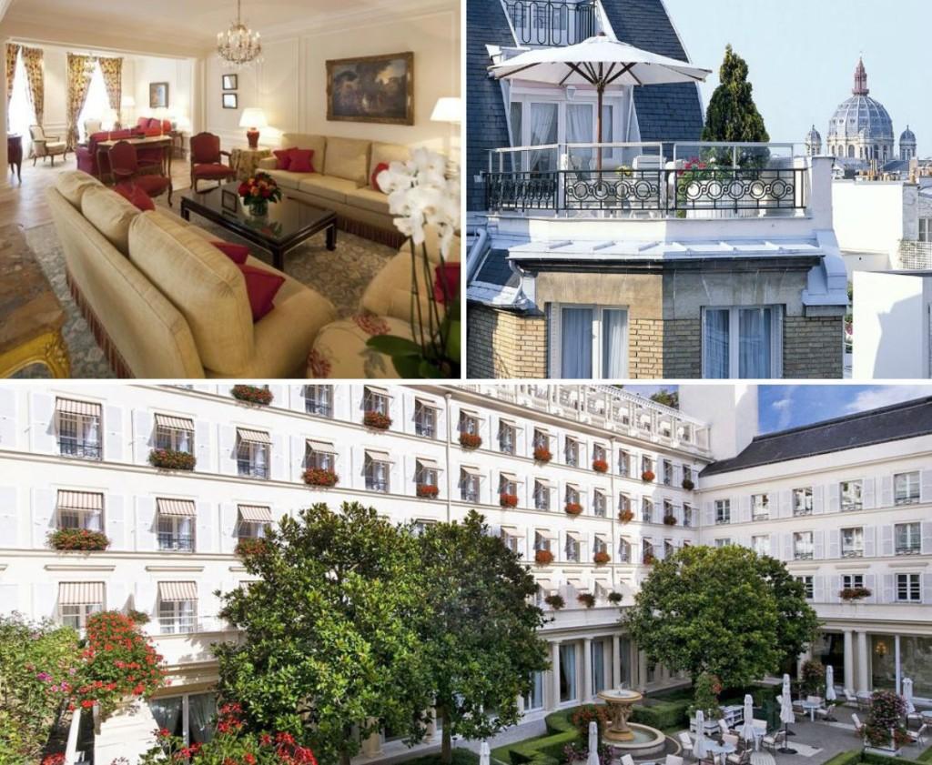 Hotel le Bristol in Parijs