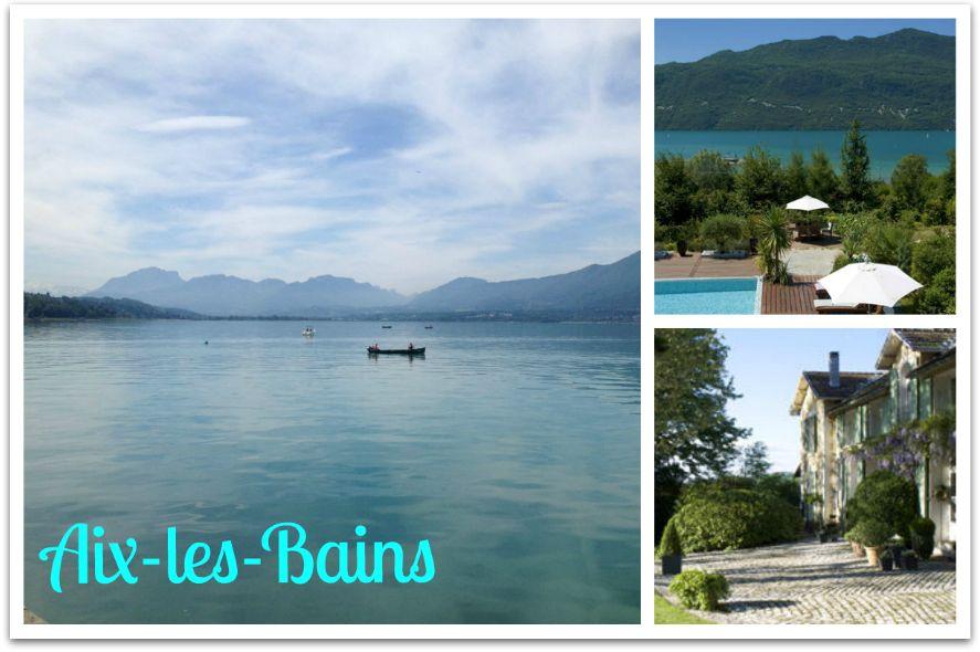 Groeten uit Aix-les-Bains kaart
