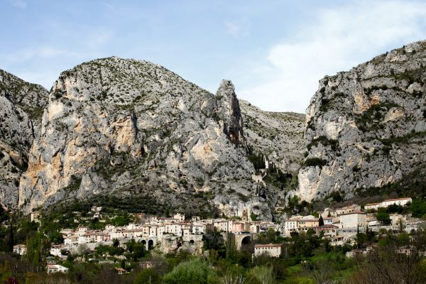 Dorp Sainte Marie Moustiers in Provence