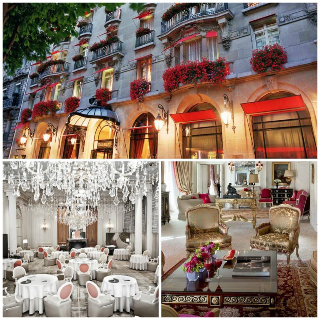 Hotel Plaza Athénée in Parijs