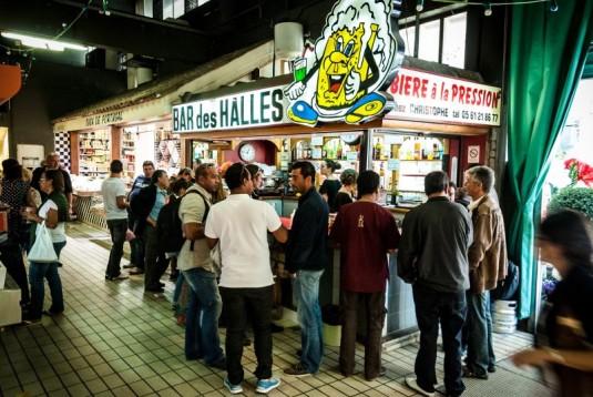 Bar à frites Markt Victor Hugo in Toulouse
