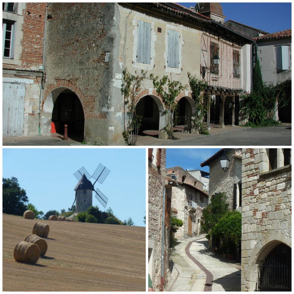 Charmante dorpje in Le Lot Frankrijk