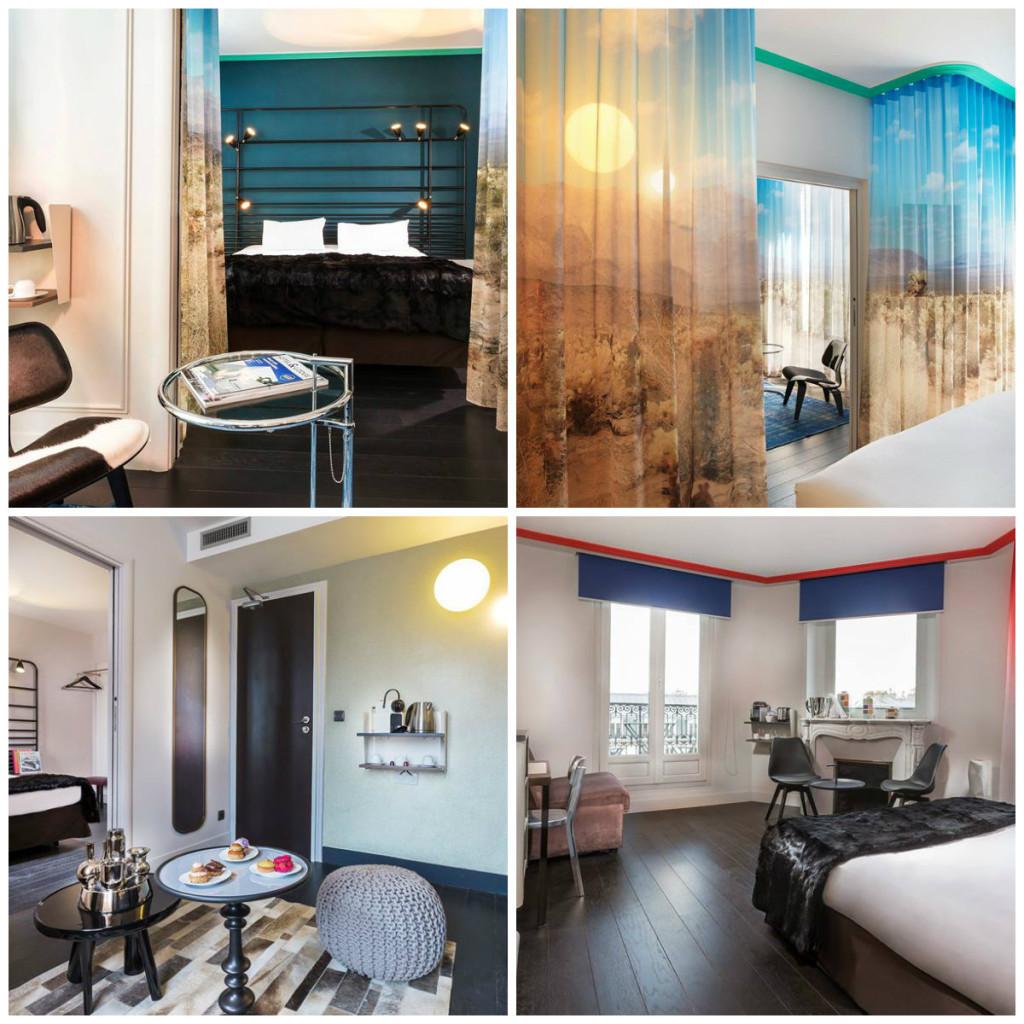 kamers in hotel La Demeure Parijs