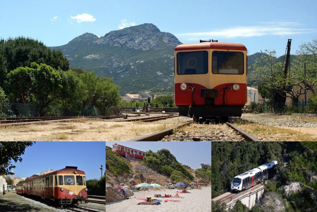 treinreizen op Corsica