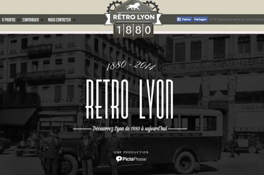 Rétro Lyon Homepage