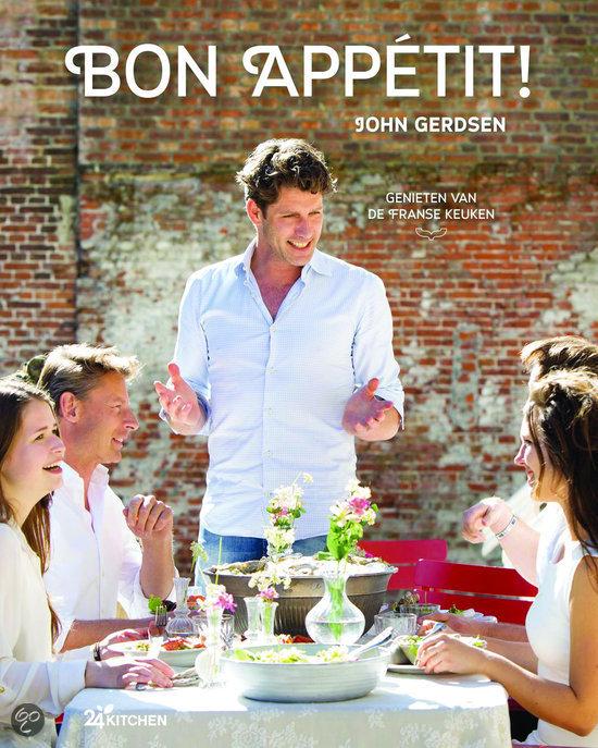 John Gerdsen Kookboek Bon Appetit genieten van de Franse keuken recepten