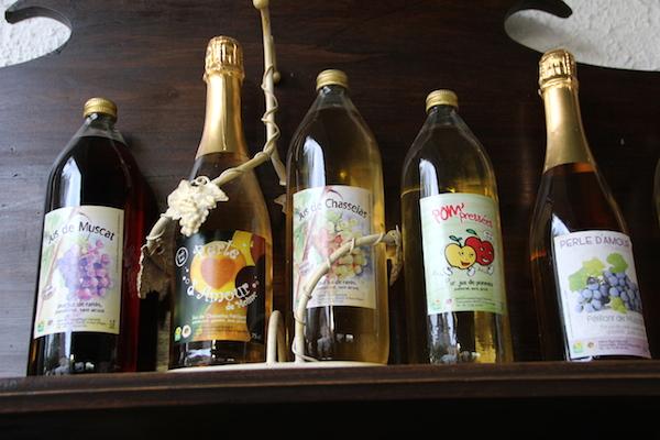 Chasselas-druivensap