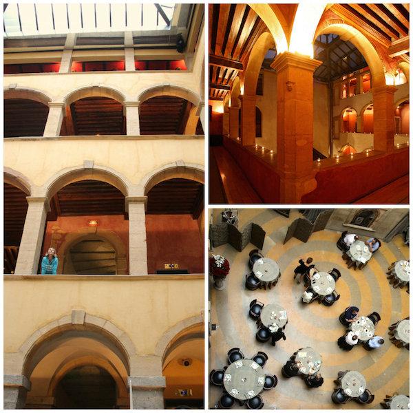 binnenhof Cour des Loges Lyon