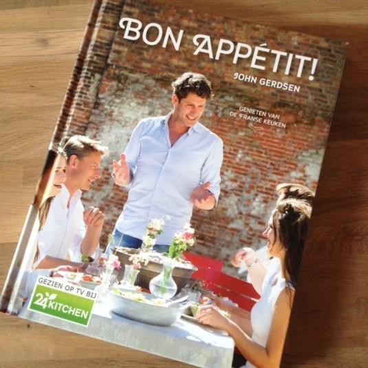 kookboek John Gerdsen 'Bon appétit'