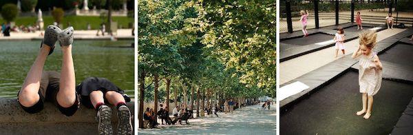 Spelen in de Tuileries