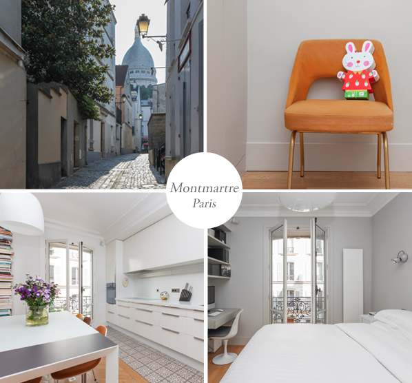 Ons appartement in Montmartre