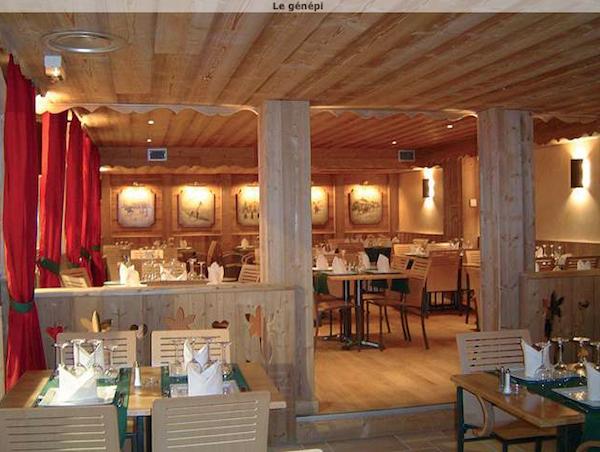 Restaurant Le genepi la rosiere