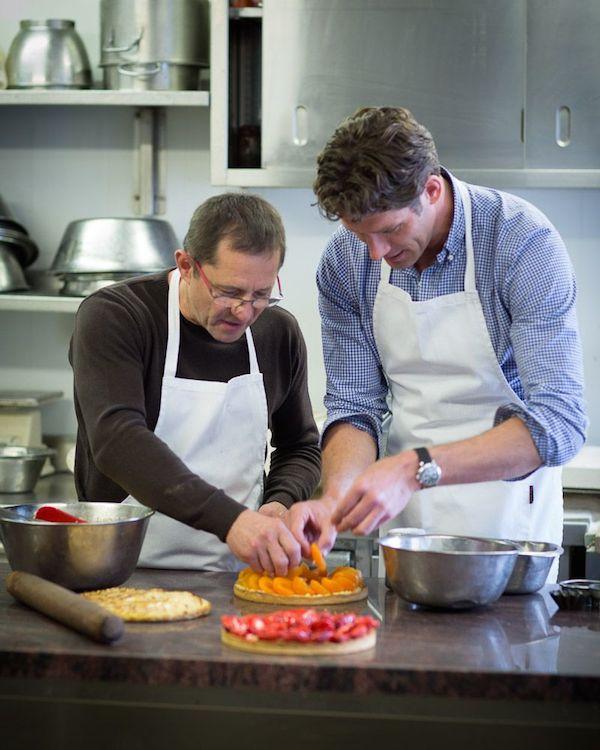 John Gerdsen in de keuken