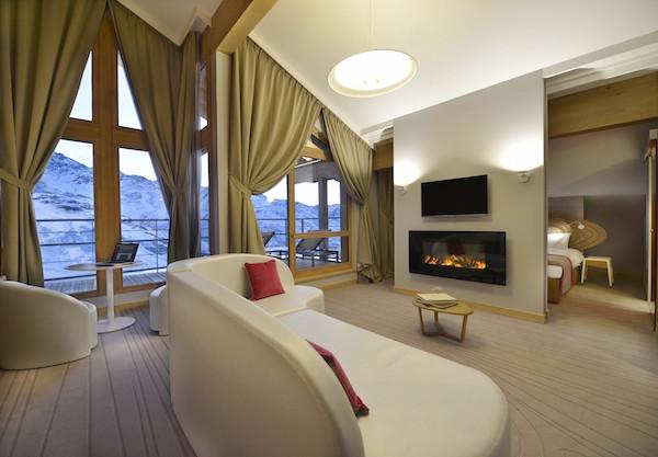 Club Med Val Thorens nieuw vakantiedorp: Suite