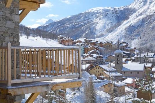 gezellige kleine dorpen bij grote skigebieden Saint-Martin-de-Belleville