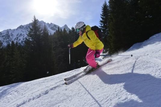 gezellige klein skidorpen bij grote skigebieden