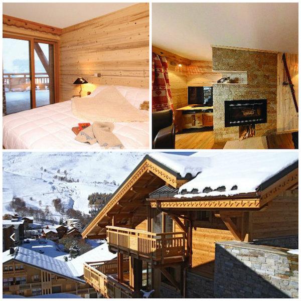 mooie chalets skivakantie vrienden en familie: Chalet Husky Les Deux Alpes