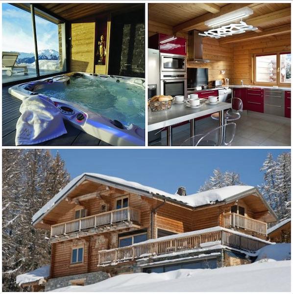 chalet Mont soleil: mooie chalets skivakantie vrienden en familie