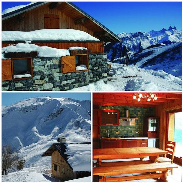 Tschapine: Chalet Soleil Levant Les deux Alpes