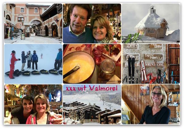 Groeten uit Valmorel heerlijk skigebied in Frankrijk