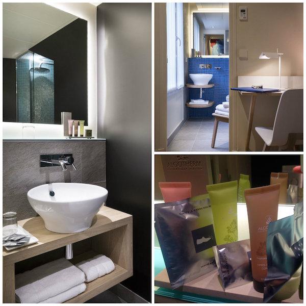 Badkamer Hotel Max Parijs