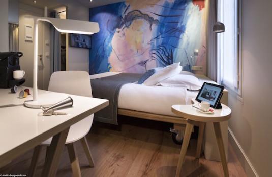 Kamer in Hotel Max Parijs 14e