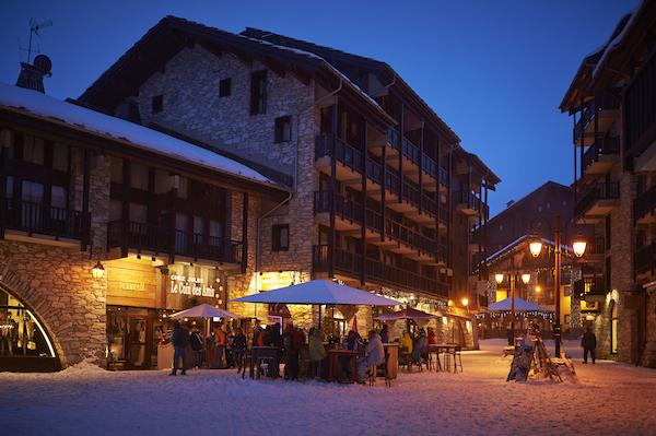 Oude dorp van Val d'isera