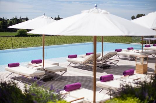 buitenzwembad Hotel le Verchant