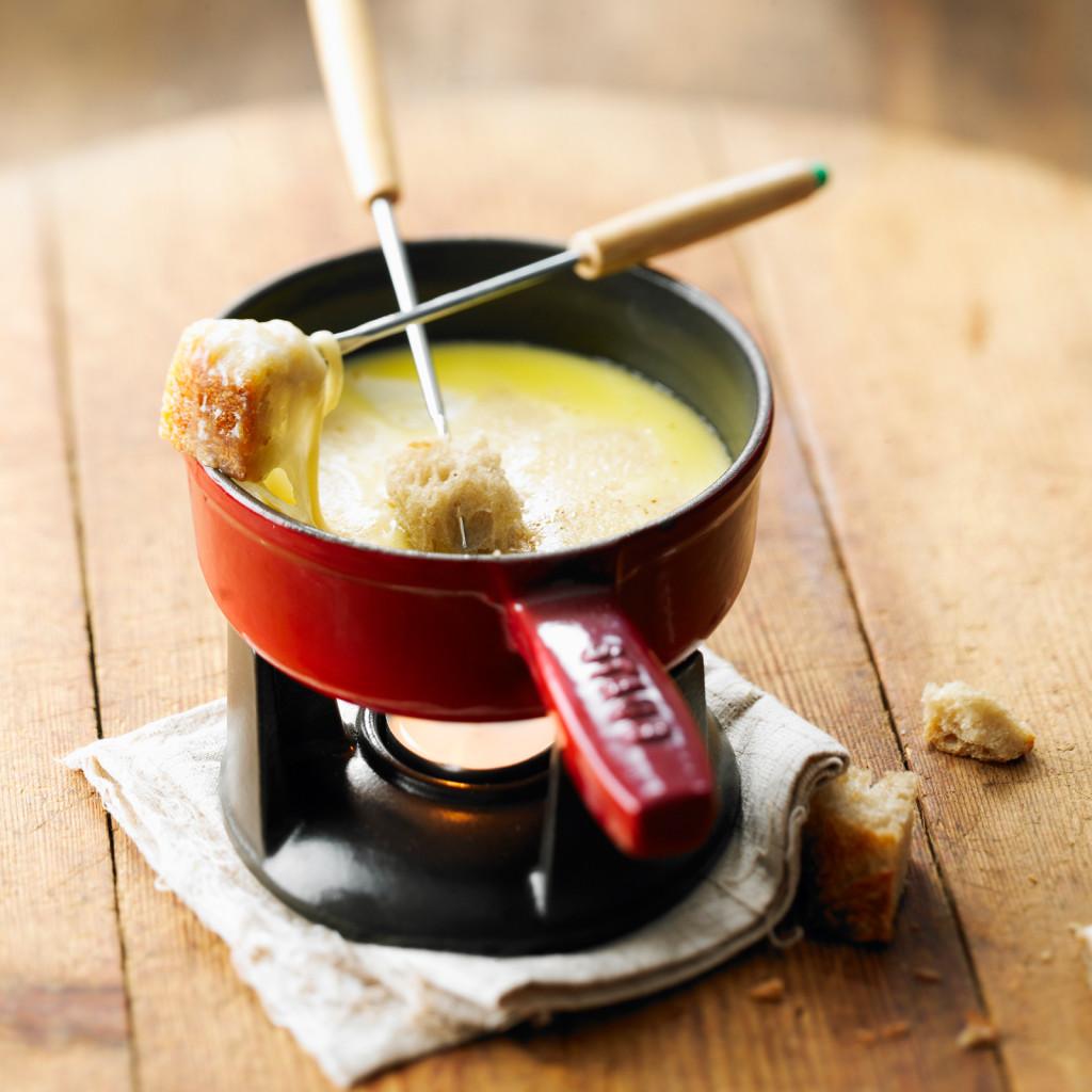 kaas fondue gerechten wintersport calorieen RM Beeldig Beeld/StockFood 2018