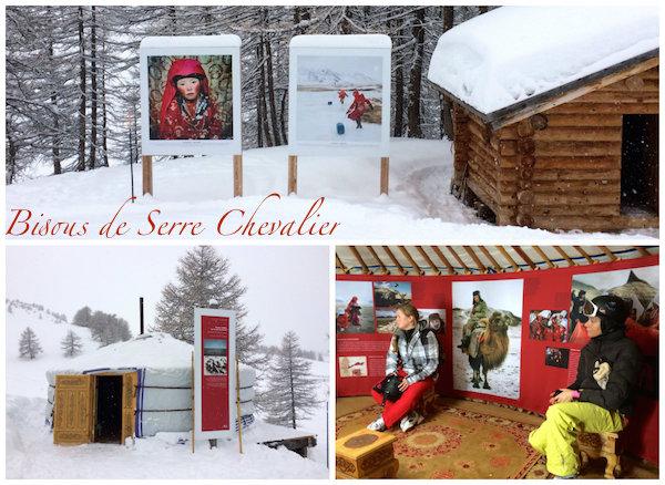 Josee in skigebied Serre Chevalier