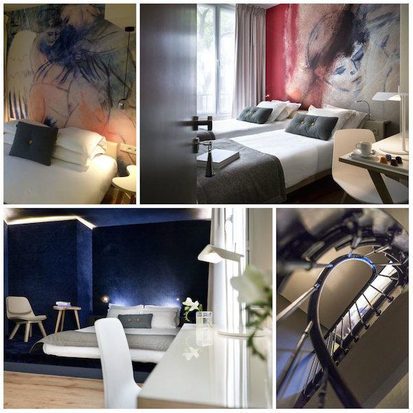 Kamers en suites in Hotel Max Parijs