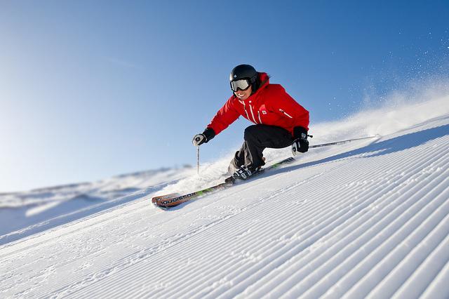 Hoeveel calorieen verbruik je met skiën?