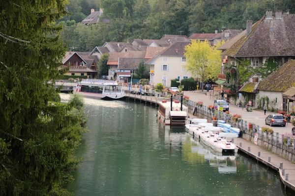 Chanaz in de Savoie op de ViaRhona